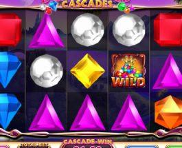 Bejeweled Cascades Slot Offers Three Bonus Games
