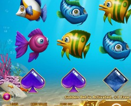 Golden Fish Tank Slot Offers Rewarding Free Spins