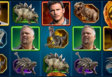 Jurassic World Slot Features Three Free Spins Games