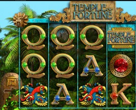 Temple of Fortune Slot Features Three Bonus Games