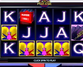Catch Phrase Slot Features Three Mr. Chips Bonuses
