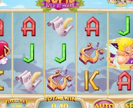 Cupid: Wild at Heart Slot Features Three Bonus Games