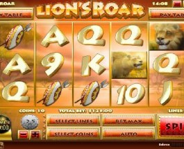 King Sized Wins from Lion's Roar Slot