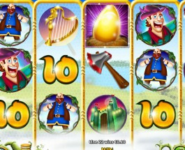 Jack's Beanstalk Slot Features Growing Wild Symbols
