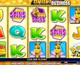 Honey Buziness Sot Offers Players Sweet and Sticky Winnings