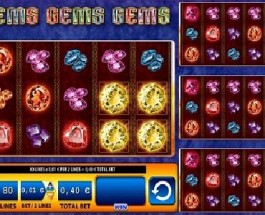 Gems Gems Gems Slot Lets You Win Valuable Jewels