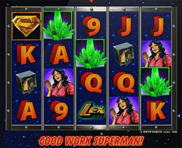 New Superman Themed Slot Game