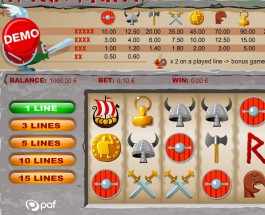 €52K Nordic Vikings Progressive Jackpot Available at Paf Casino