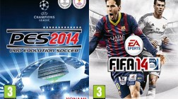 PES 2014 Fails to Match FIFA 14