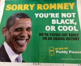 Paddy Power Already Paying for Obama Win