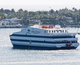 Palm Beach's New Floating Casino Makes Maiden Voyage