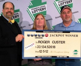 Pennsylvania Man Wins $50 Million Jackpot