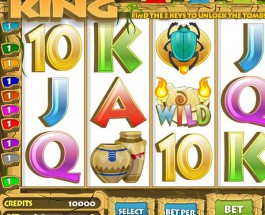 Pharaoh King Video Slots at Jetbull Casino Exceeds €9.8K