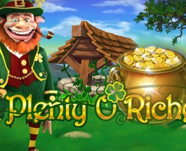 Play Plenty O' Riches at Winner Casino for Double Comp Points