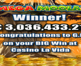 Player Wins €3 Million Mega Moolah Jackpot