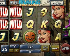 Playtech Releases Spiderman: Attack of the Green Goblin Slots