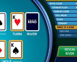 £75K Poker Keno Progressive Jackpot Available at Sky Vegas Casino