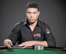 PokerStars Signs Ronaldo to Team SportsStars