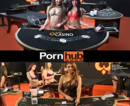 Pornhub Launches Live Dealer Casino Complete with Strip Poker