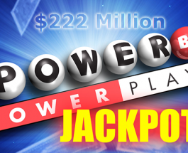 Powerball Jackpot Grows to $222 Million