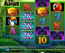 IGT's Prowling Panther Slot Takes Players into the Jungle