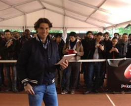 Rafa Nadal Challenges Fans to Poker Tournament