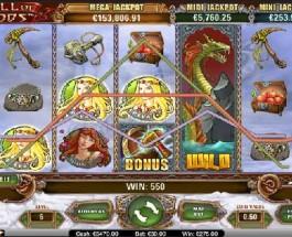 Hall of Gods Mega Jackpot Reaches €2.25 Million