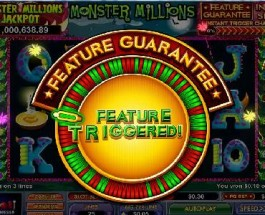 Monster Millions Jackpot Surpasses $1 Million