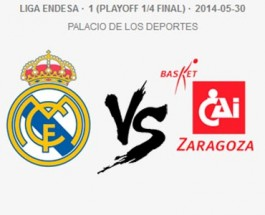 Real Madrid vs Basket Zaragoza