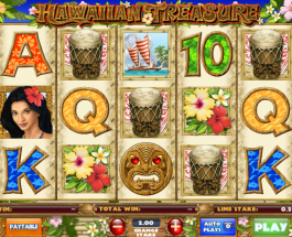 Sail to Hawaii with the Hawaiian Treasure Slot Game