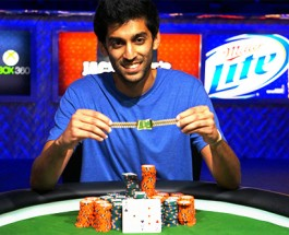 Sandeep Pulusani Wins WSOP $3,000 No Limit Hold'em