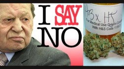 Sheldon Adelson Donates Towards Anti-Pot Measure