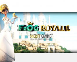 Sheriff Gaming Released Frog Royale Slots