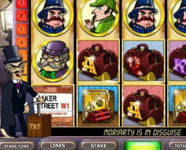 Paddy Power Casino Sherlock's Reel Mystery Video Slot Jackpot Exceeds £41K