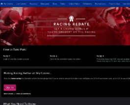 Sky Casino Offers Casino Bonuses for Racing Losses