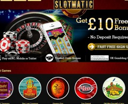 Slot Matic Launches Fully Mobile Friendly Casino