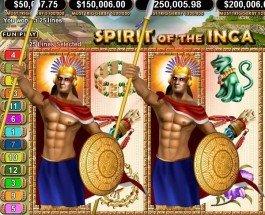 Vegas Casino Online Spirit of the Inca Grand Jackpot Approaches $285K