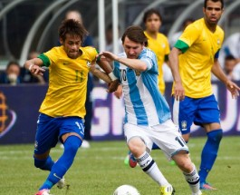 Messi vs Neymar Go at it Again Today in Brazil vs Argentina