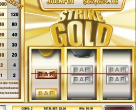 $66K Strike Gold Slot Progressive Jackpot Available at Vegas Regal Casino