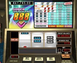 $17K Super Thundering 888 Jackpot Available at 888 Casino
