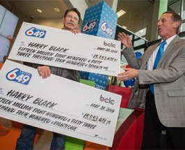 Surrey Man Claims $31 Million Jackpot Win