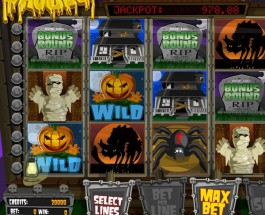 Guts Casino's The Ghouls Video Slot Approaches €10K