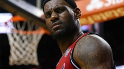 Top Miami Heat Player LeBron James Signs with Tencent
