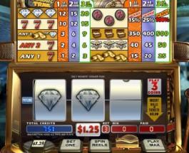 Treasure Trail Video Slots at Intertops Casino Classic Offers $35K