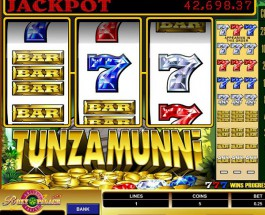 Tunzamunni Video Slots at Roxy Palace Casino Offers $40K