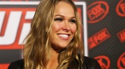 UFC Signs Ronda Rousey as First Female Fighter