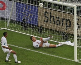 Ukraine Upset Brings Debate On Use Of Goal-Line Technology