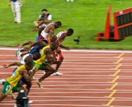 Usain Bolt and Yohan Blake – Friends Even in Competition