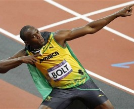 Breaking News: Usain Bolts to Olympic Record in 100 Meter Sprint