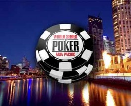 WSOP Asia-Pacific Set for October 2013 at Crown Melbourne Casino